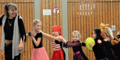 Faschingsparty beim Kinderturnen