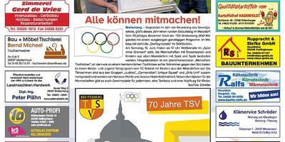 70 Jahre TSV Breitenberg
